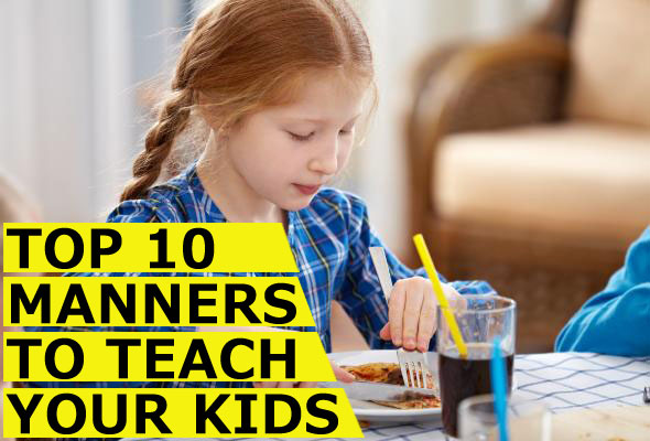 top 10 manners to tech your children