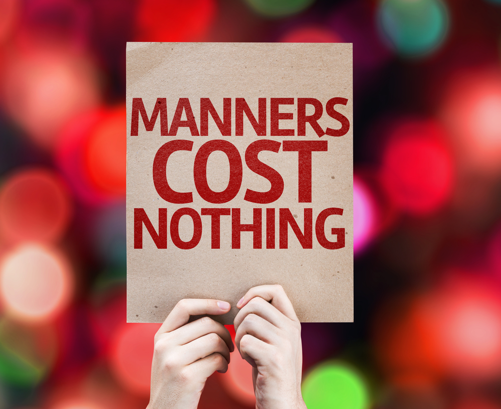 teaching good manners