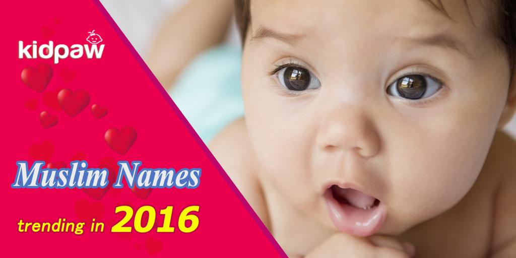 Islamic Names trending 2016