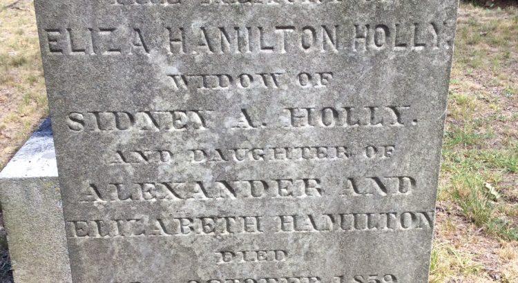 Eliza Hamilton Holly