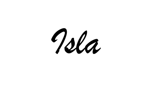 What Is The Meaning Of The Name Isla?