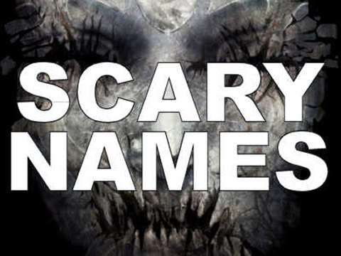 25 Scary Names That You Won't Name Your Kids