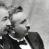 Brothers Auguste and Louis Lumiere
