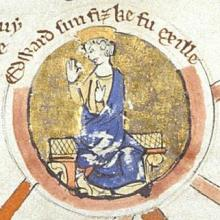 wife of Edward the Exile Agatha
