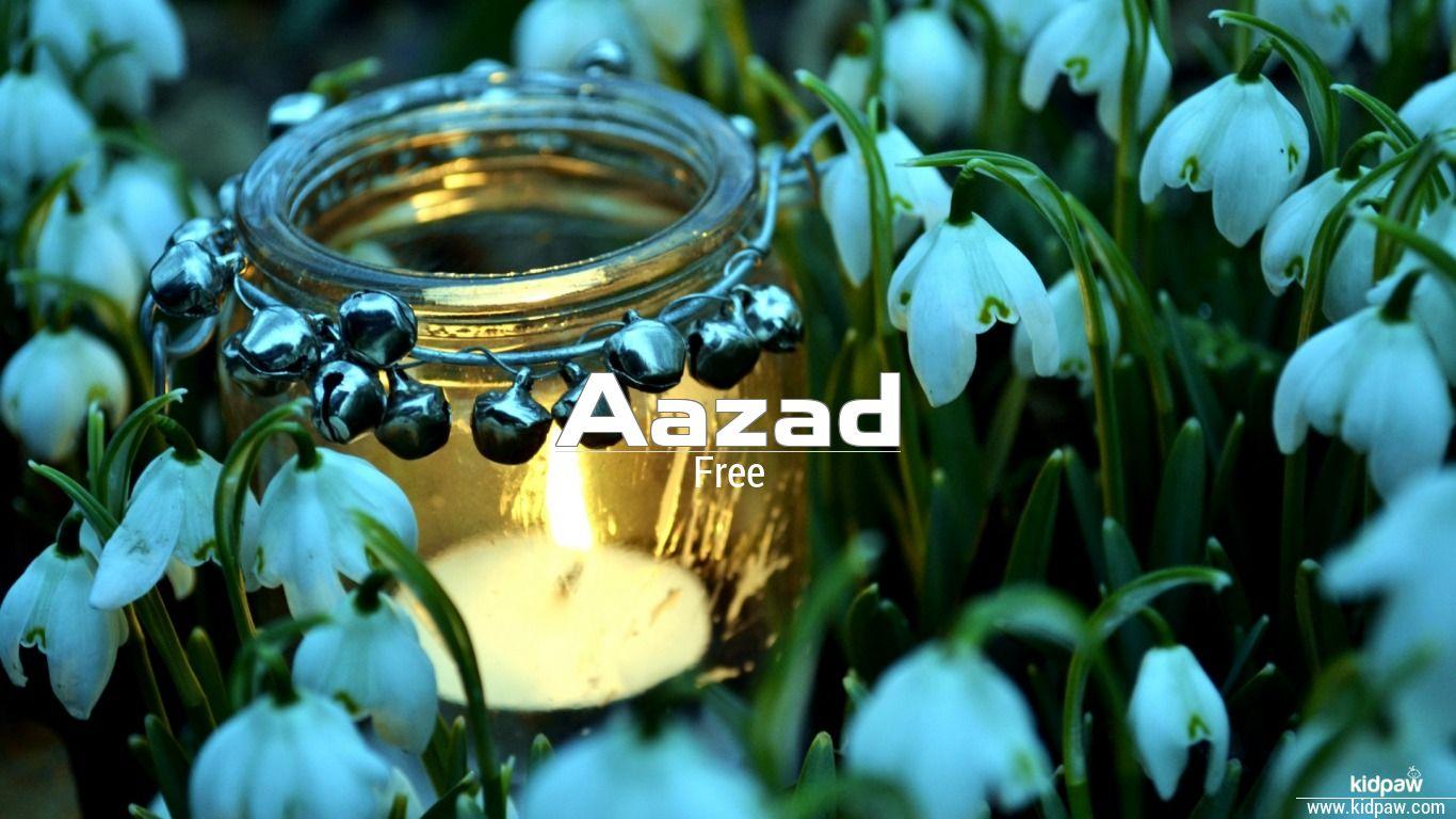 Aazad beautiful wallper