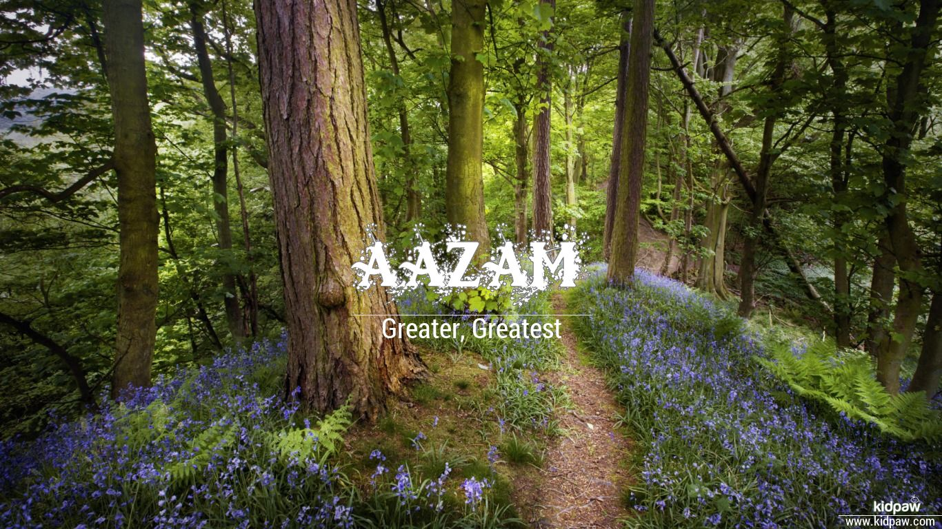 Aazam beautiful wallper