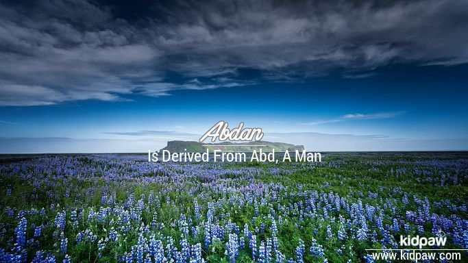 Abdan beautiful wallper