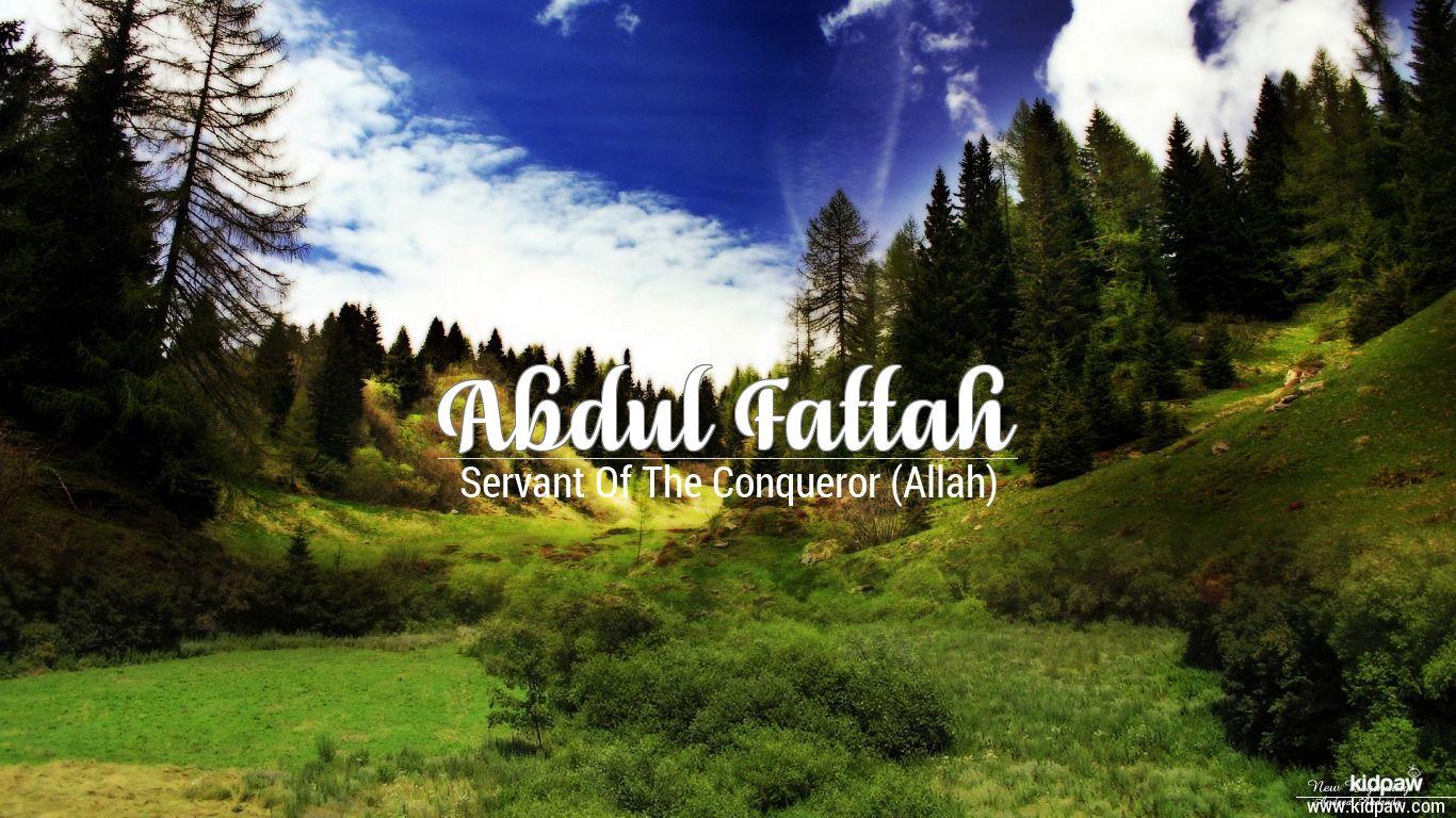 Abdul fattah beautiful wallper