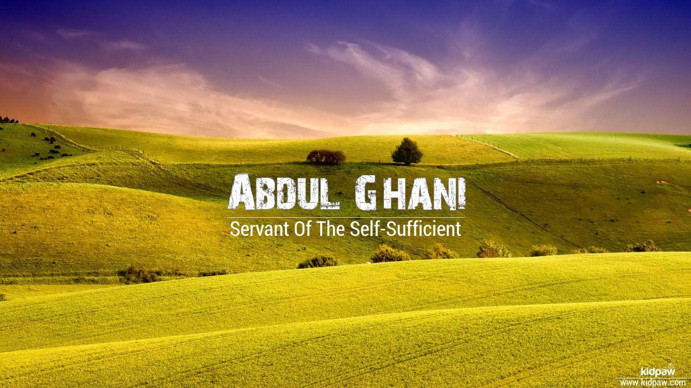 Abdul ghani beautiful wallper