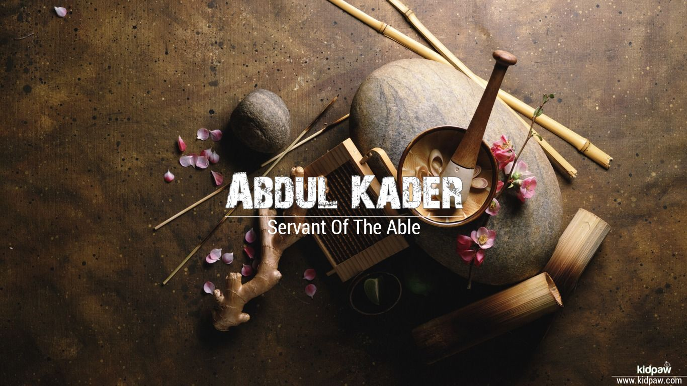 Abdul Kader beautiful wallper