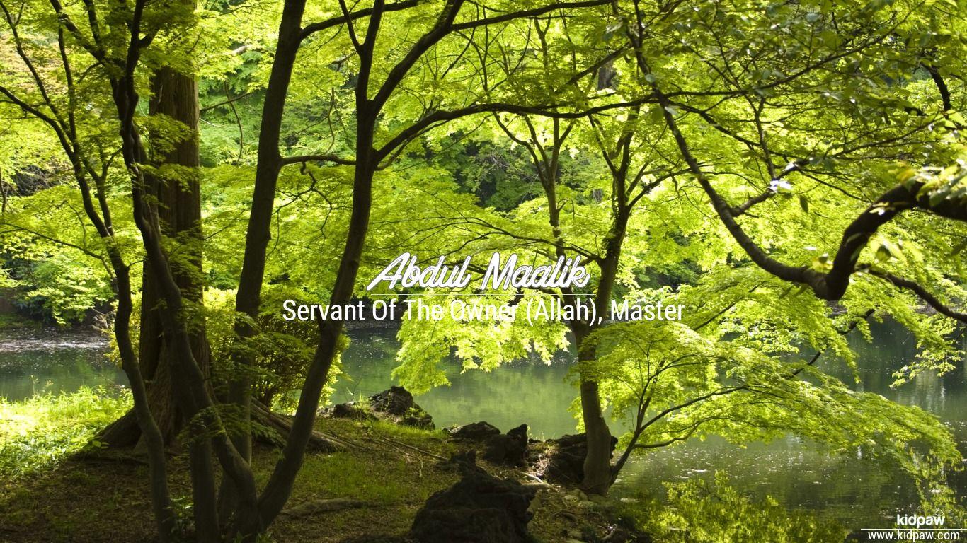 Abdul maalik beautiful wallper