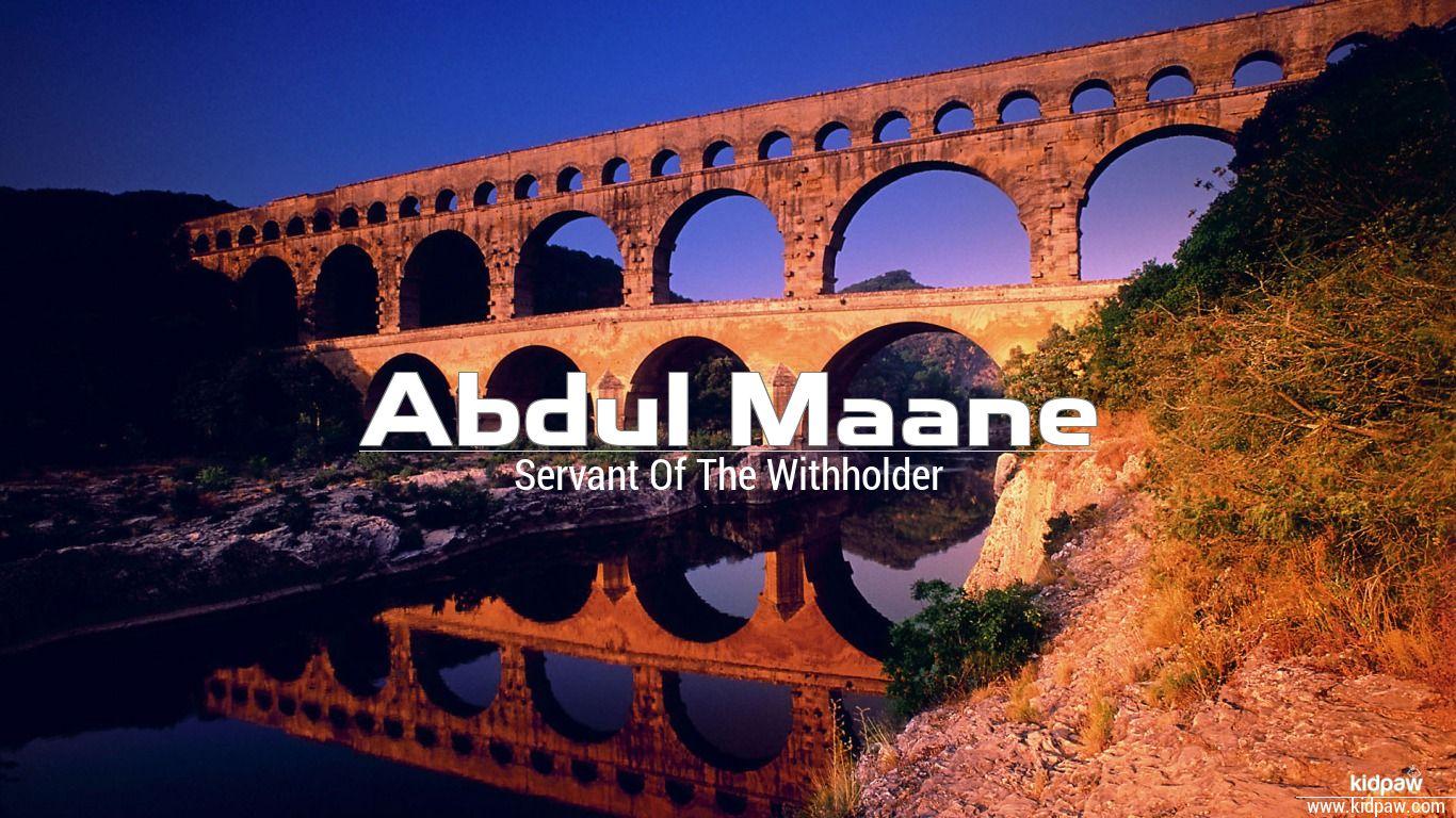 Abdul maane beautiful wallper