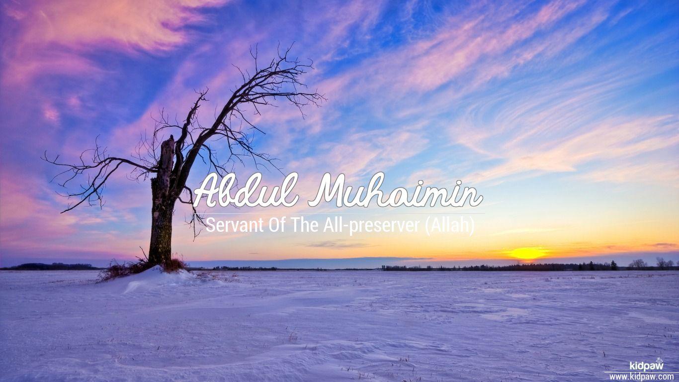 Abdul muhaimin beautiful wallper