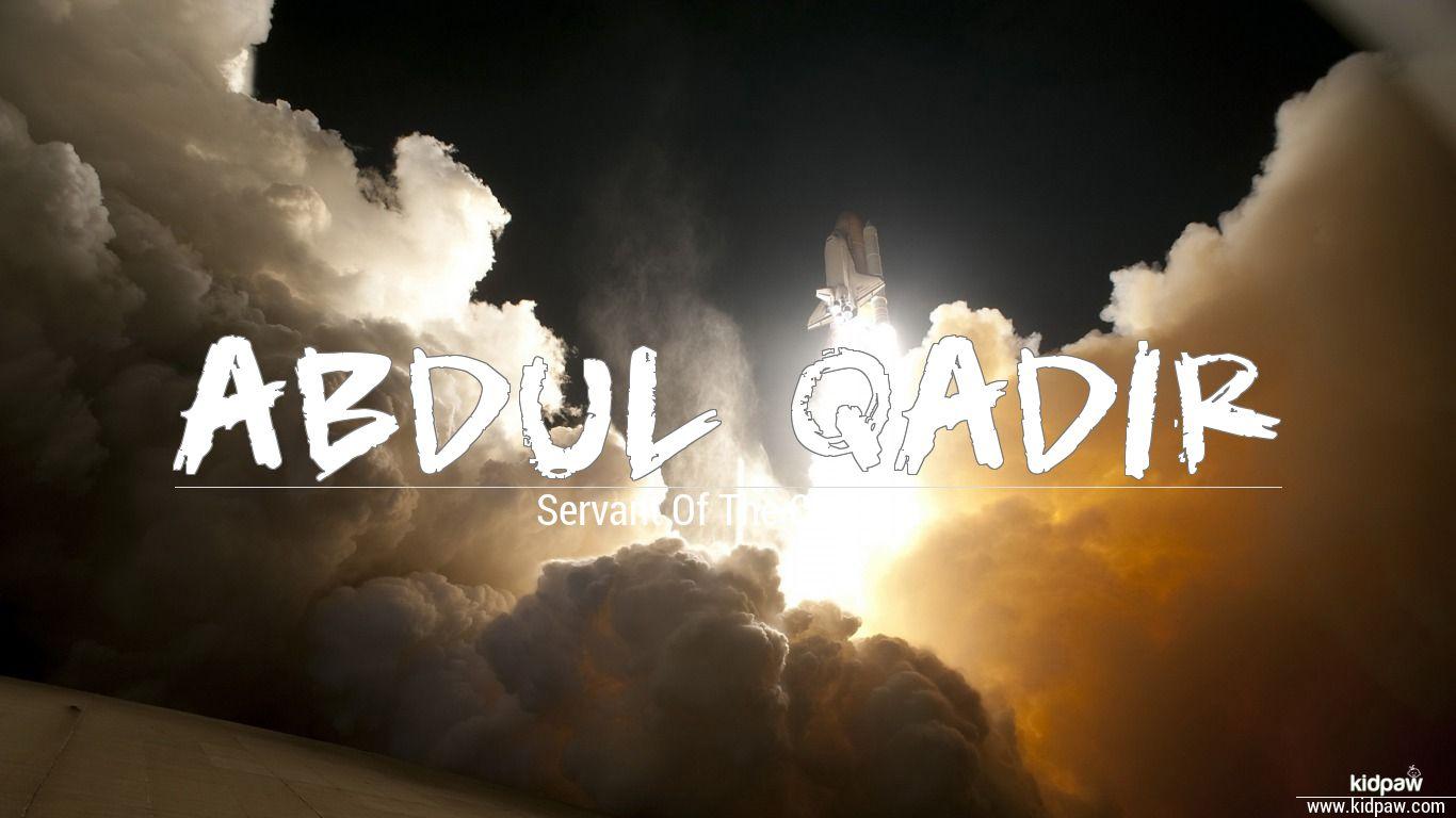 Abdul qadir beautiful wallper