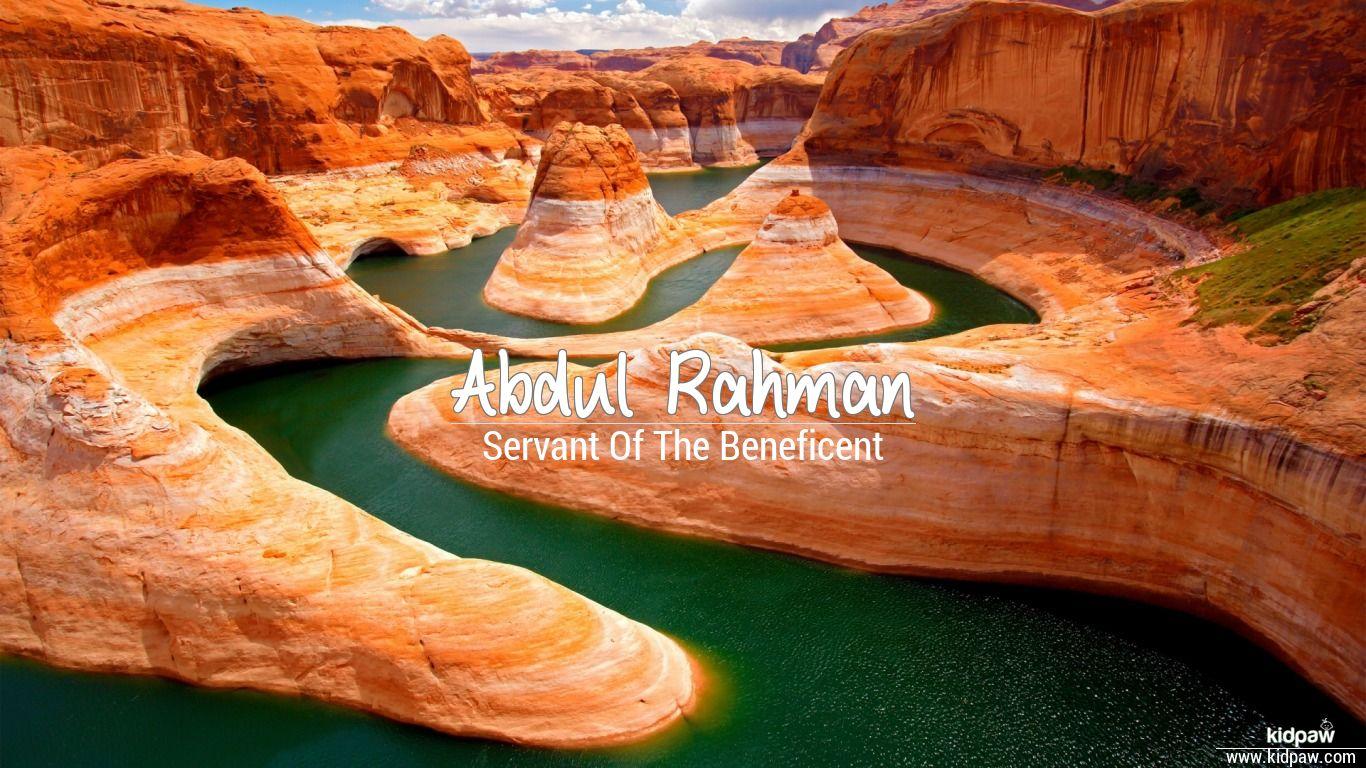 Abdul rahman beautiful wallper
