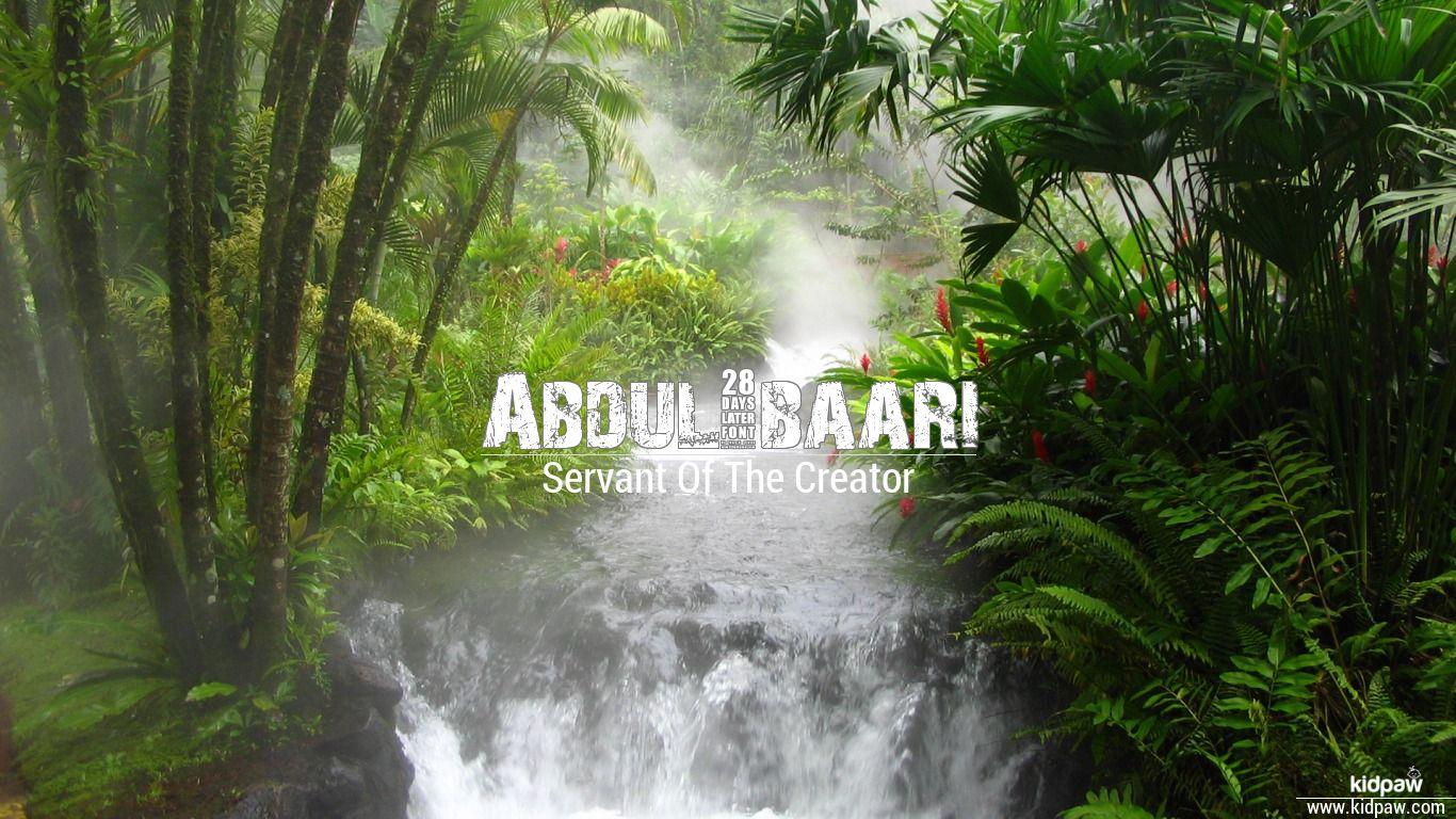 Abdul-baari beautiful wallper