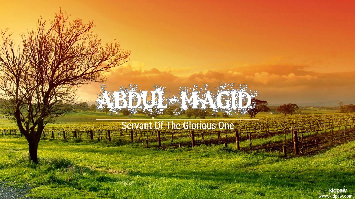 Abdul-magid beautiful wallper