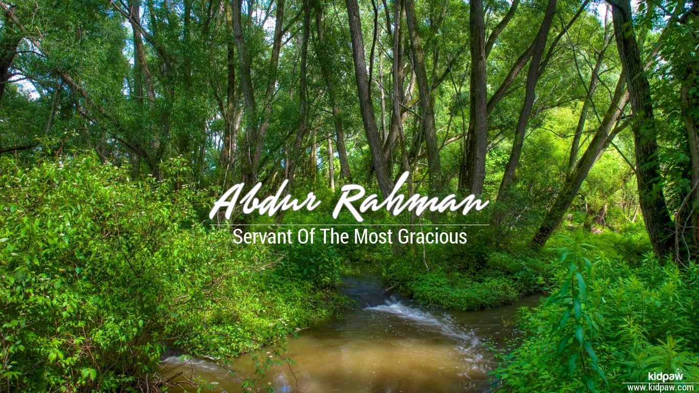 Abdur rahman beautiful wallper