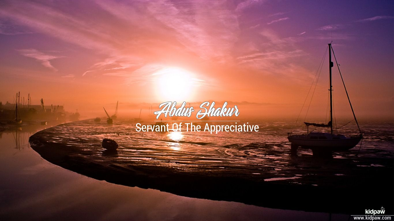 Abdus shakur beautiful wallper