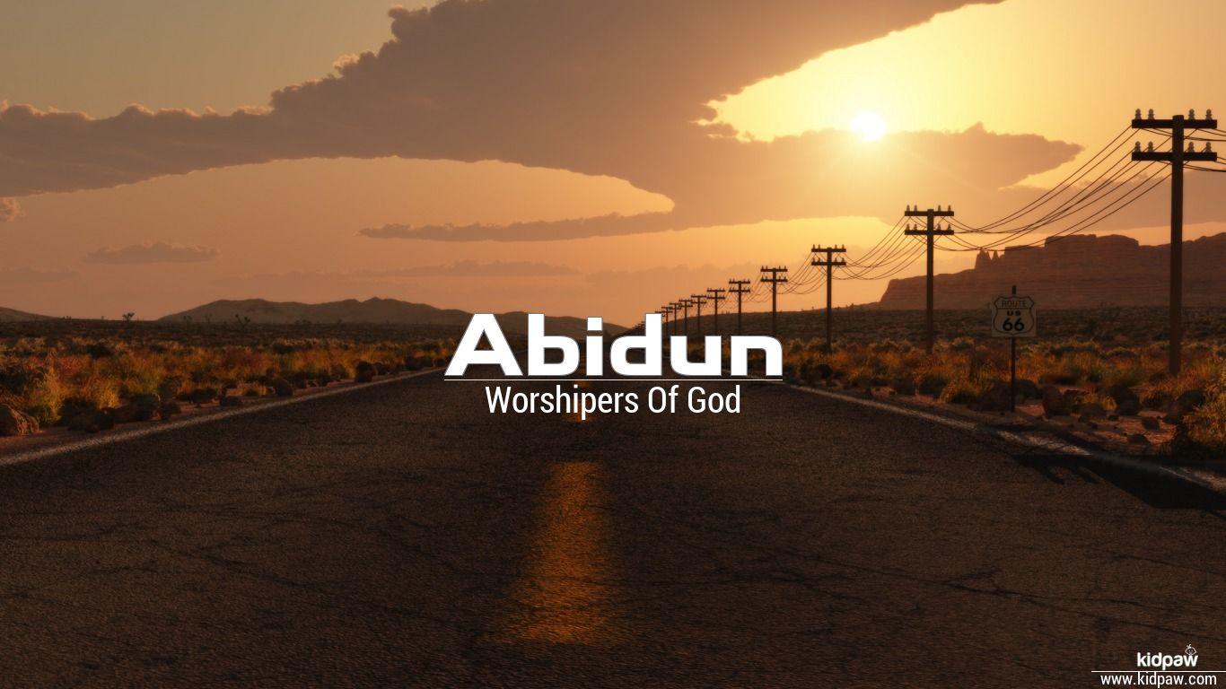 Abidun beautiful wallper