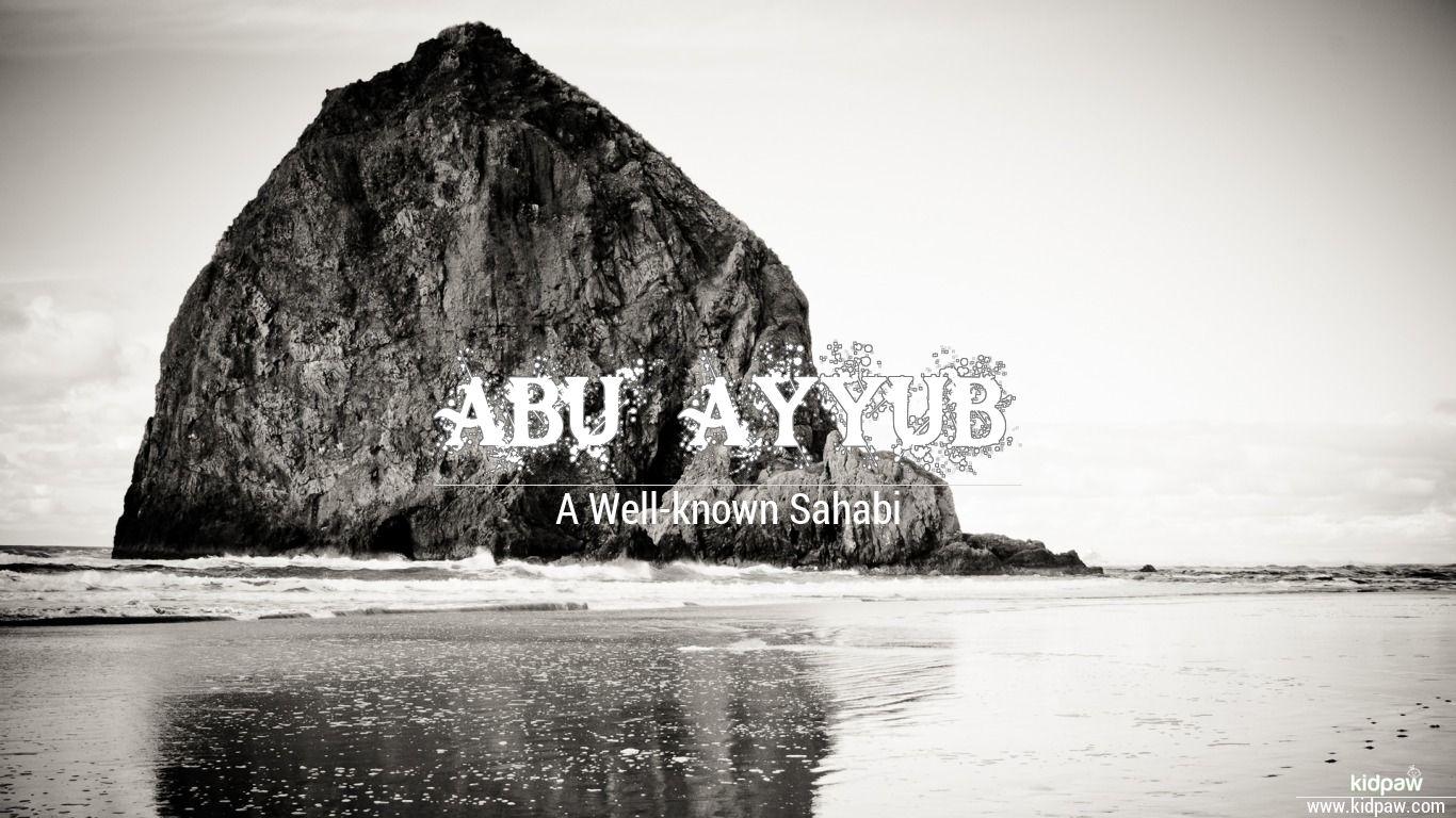 Abu ayyub beautiful wallper