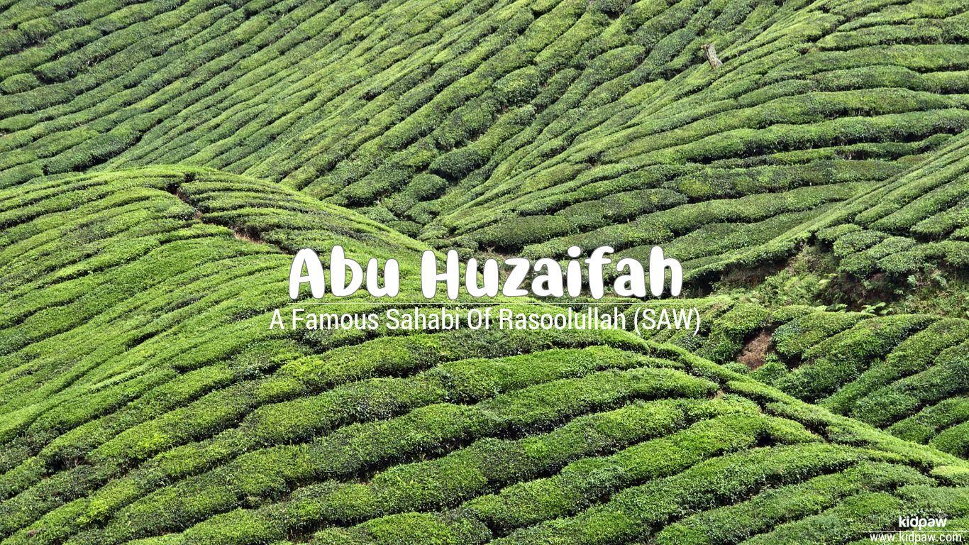Abu huzaifah beautiful wallper