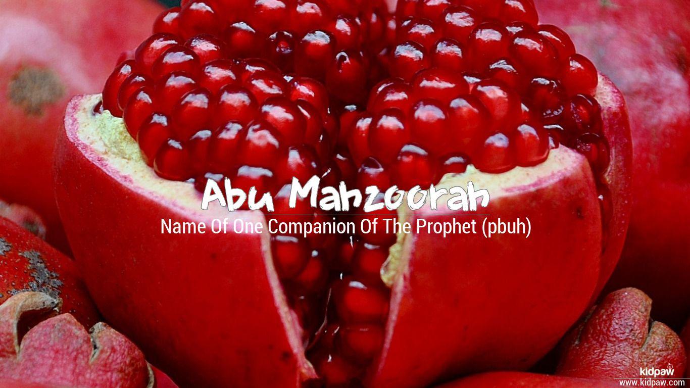 Abu mahzoorah beautiful wallper
