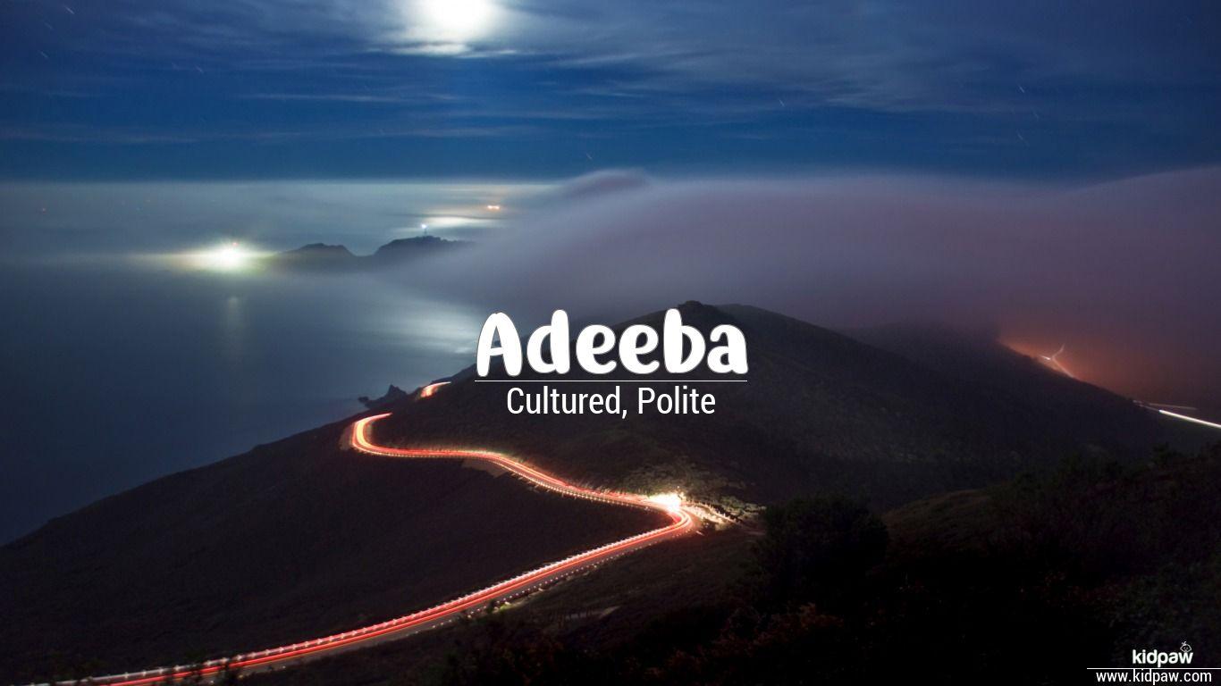 Adeeba beautiful wallper