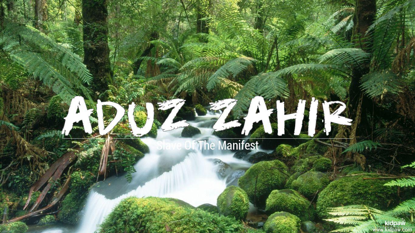 Aduz zahir beautiful wallper