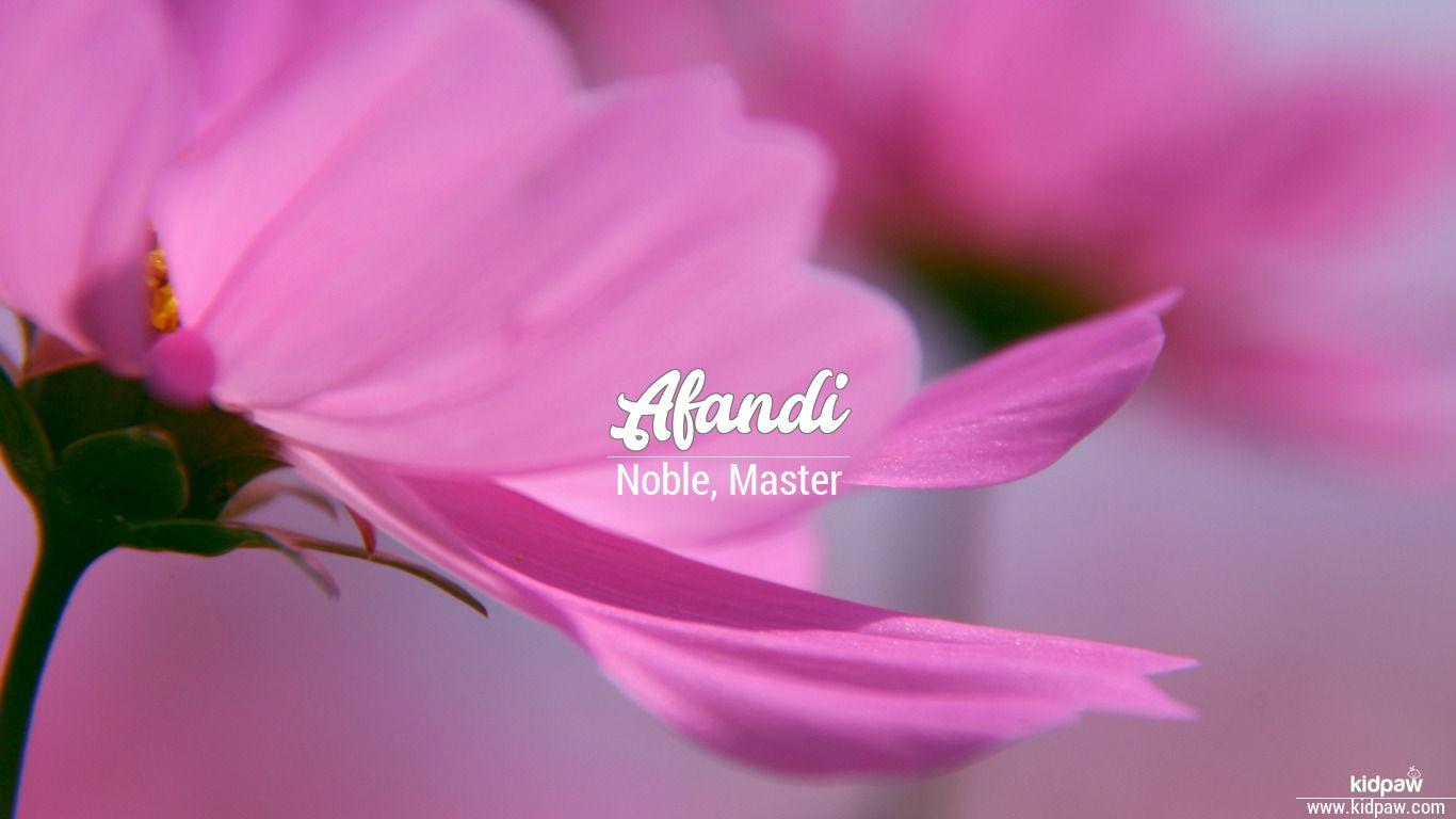Afandi beautiful wallper