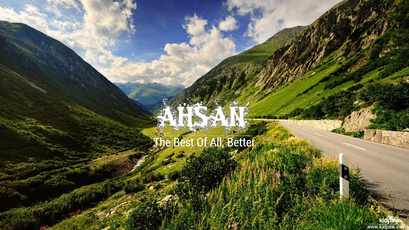 Ahsan beautiful wallper