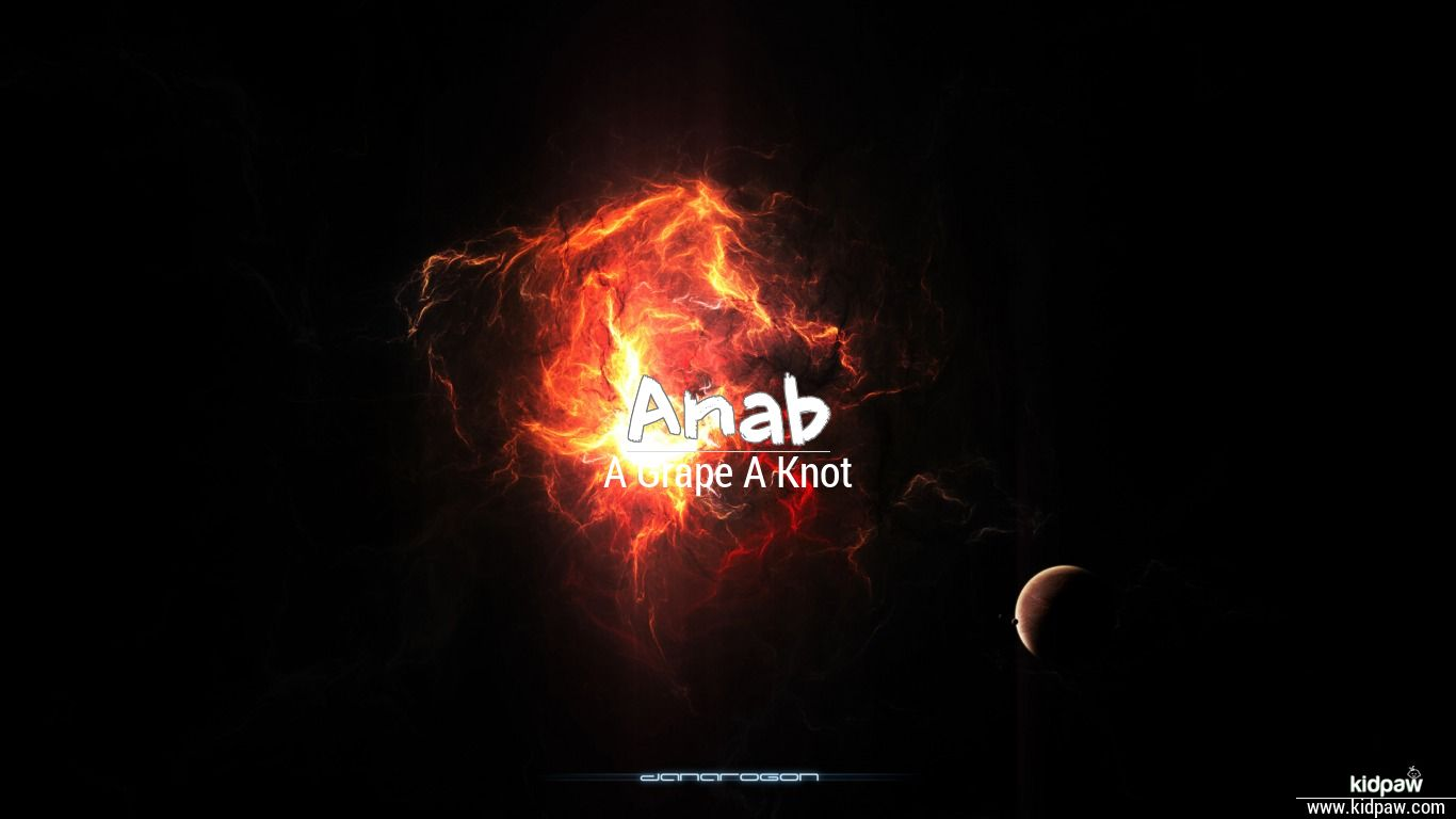 Christian Baby Boy Name Anab Meanings, Religion, Origin Details