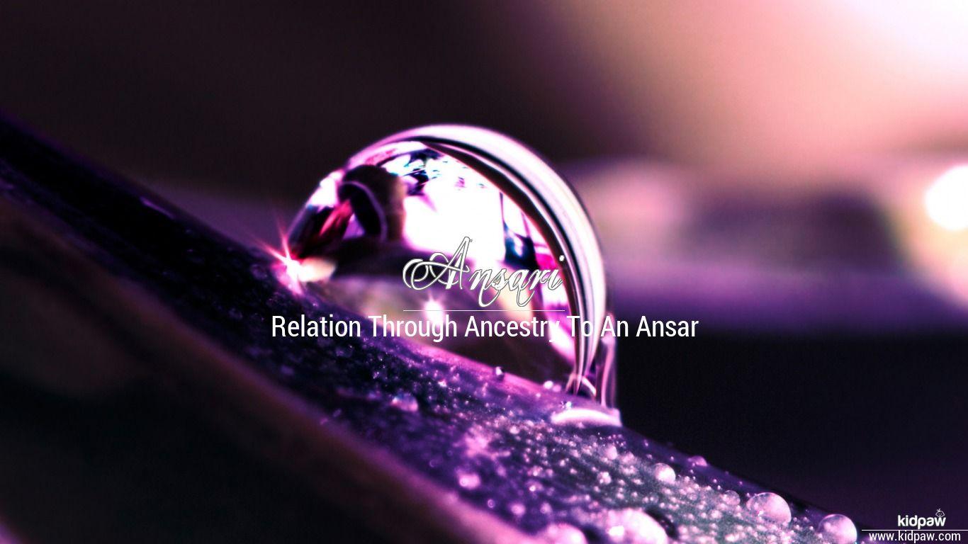 Ansari beautiful wallper