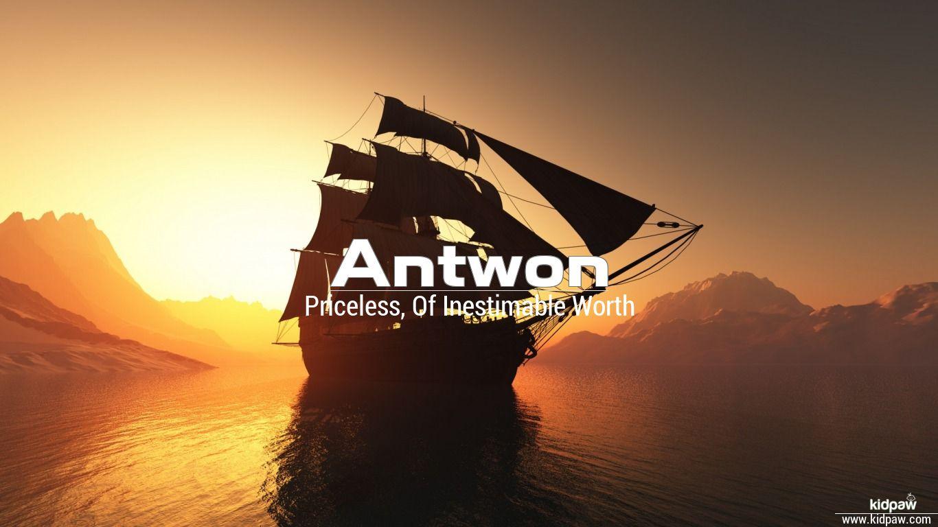 Antwon beautiful wallper