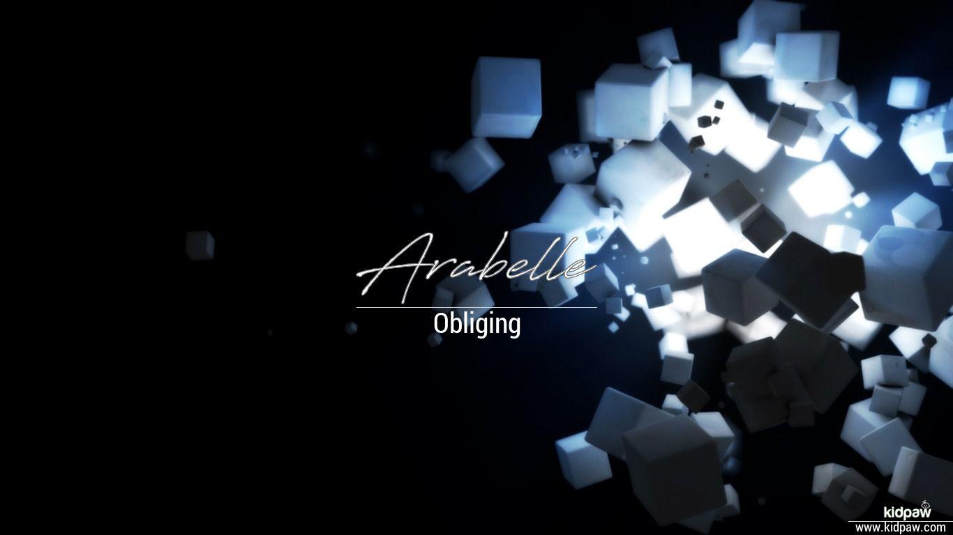 Arabelle beautiful wallper