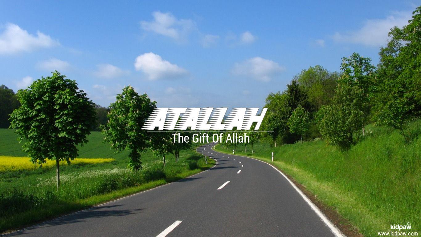 Atallah beautiful wallper