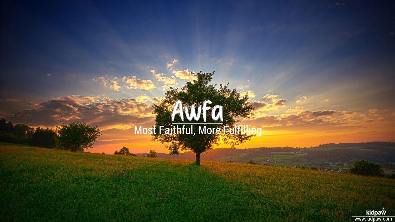 Awfa beautiful wallper