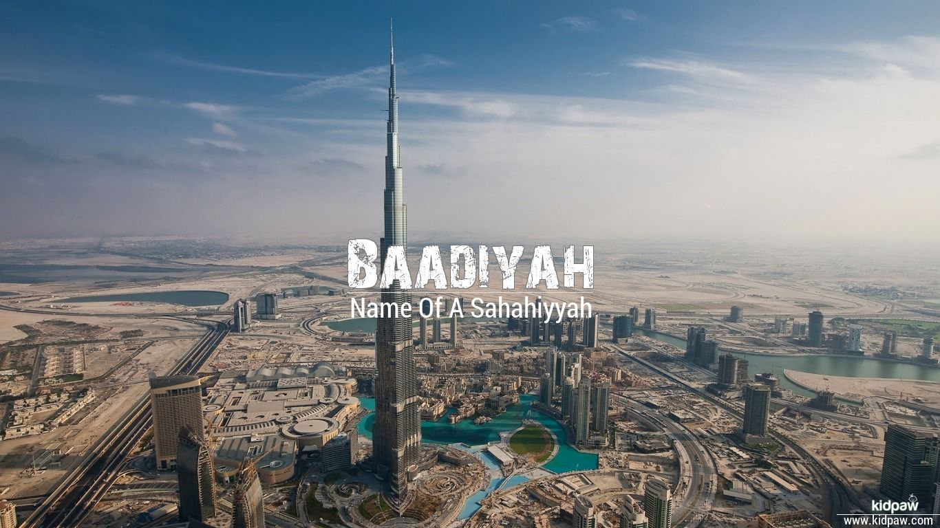 Baadiyah beautiful wallper