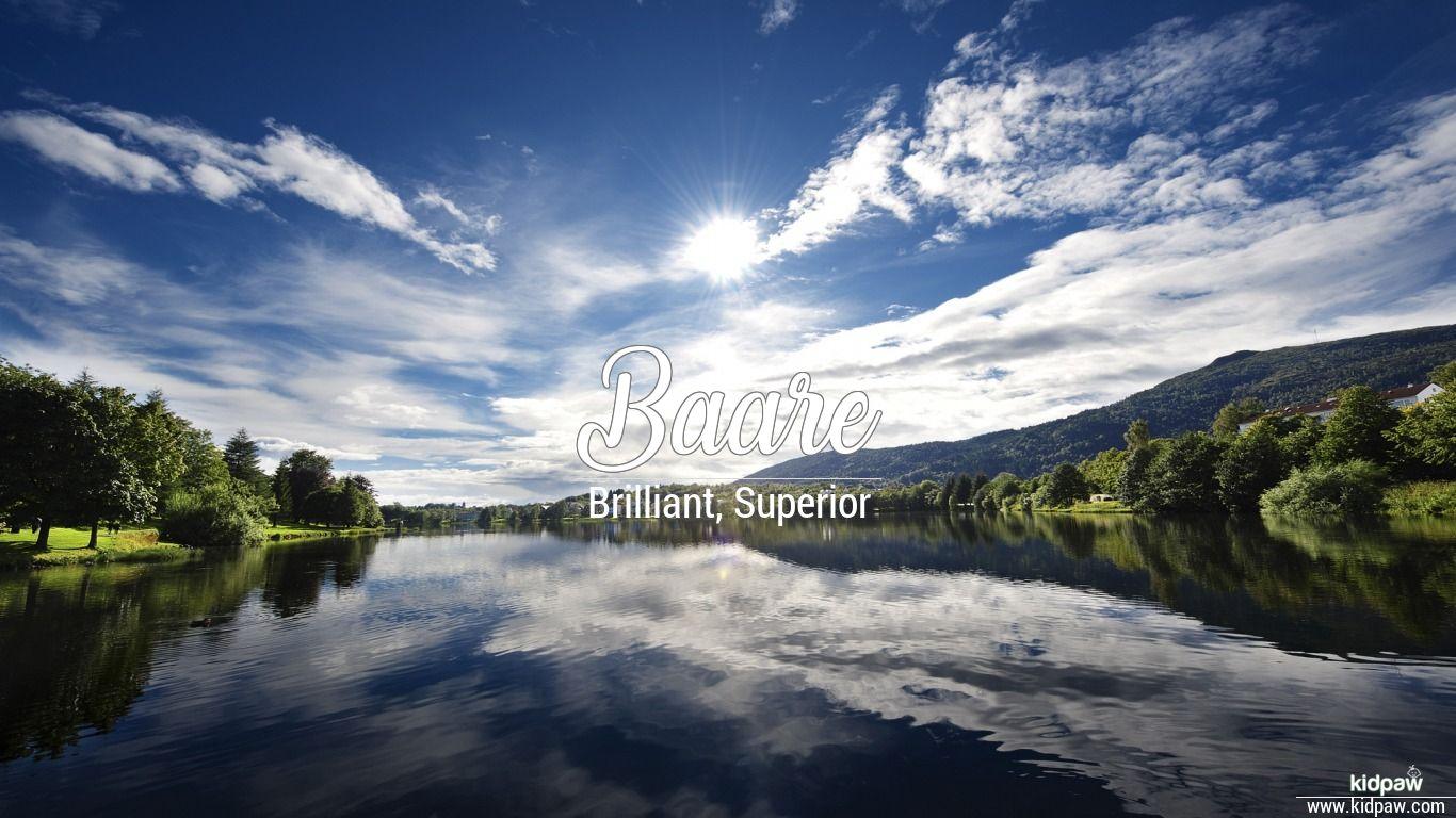 Baare beautiful wallper