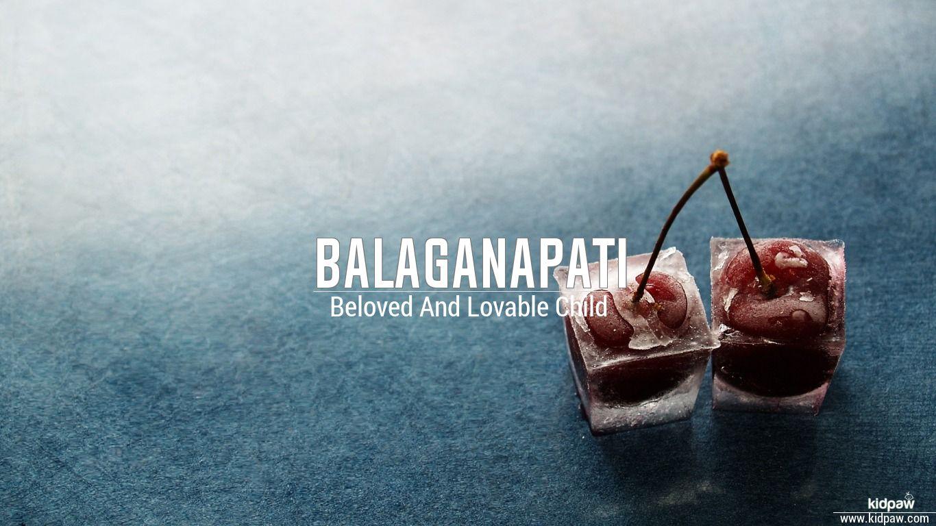 Balaganapati beautiful wallper
