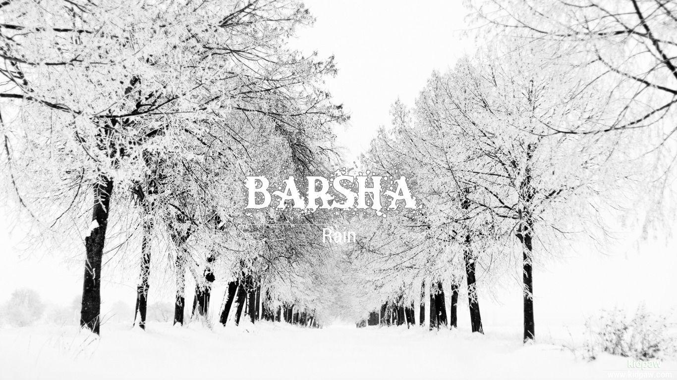 Barsha beautiful wallper