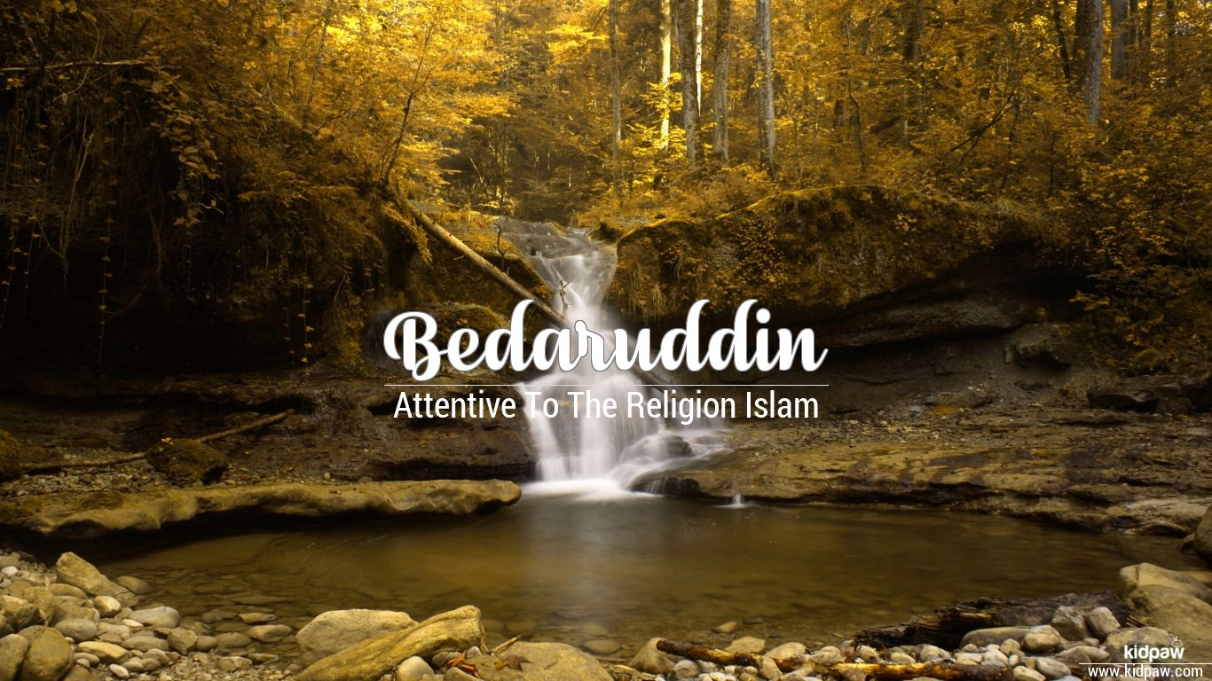 Bedaruddin beautiful wallper