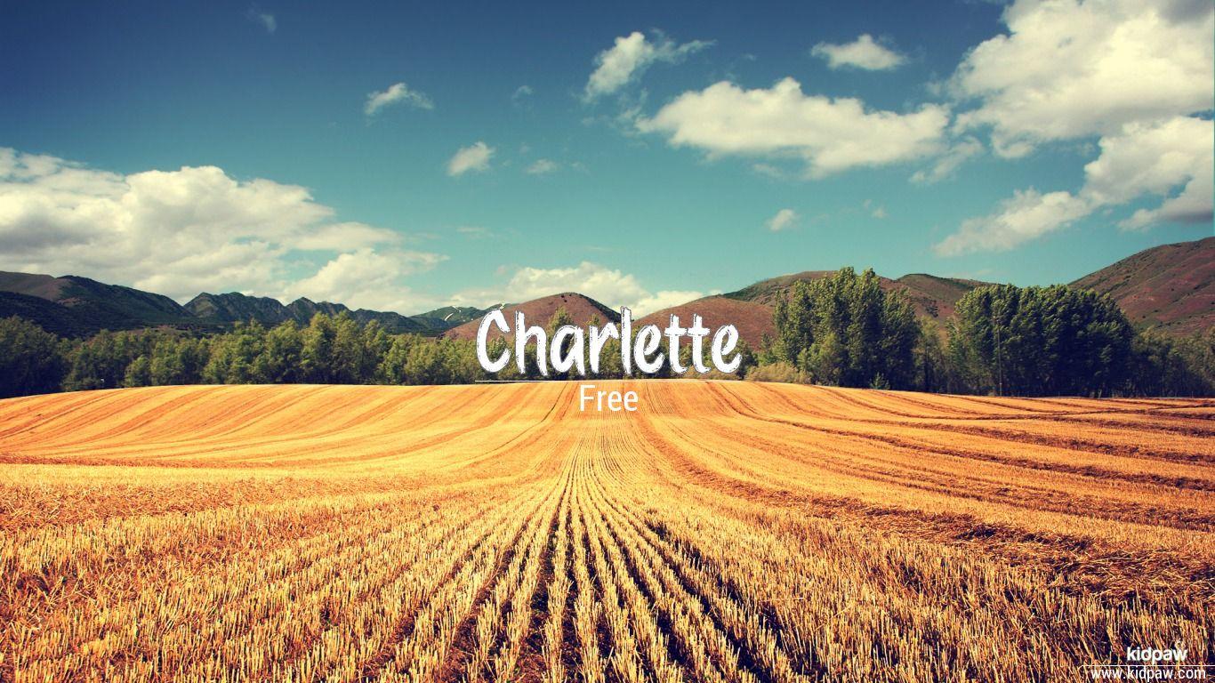 Charlette beautiful wallper