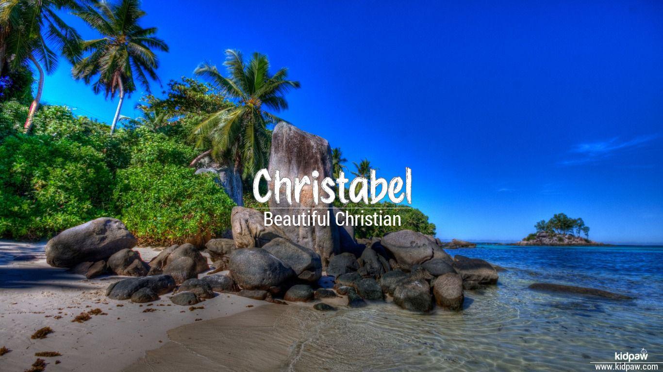 Christabel beautiful wallper