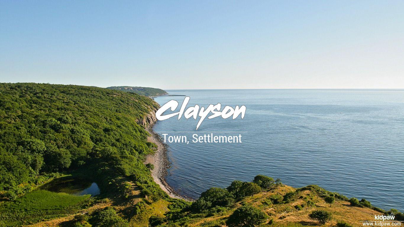 Clayson beautiful wallper