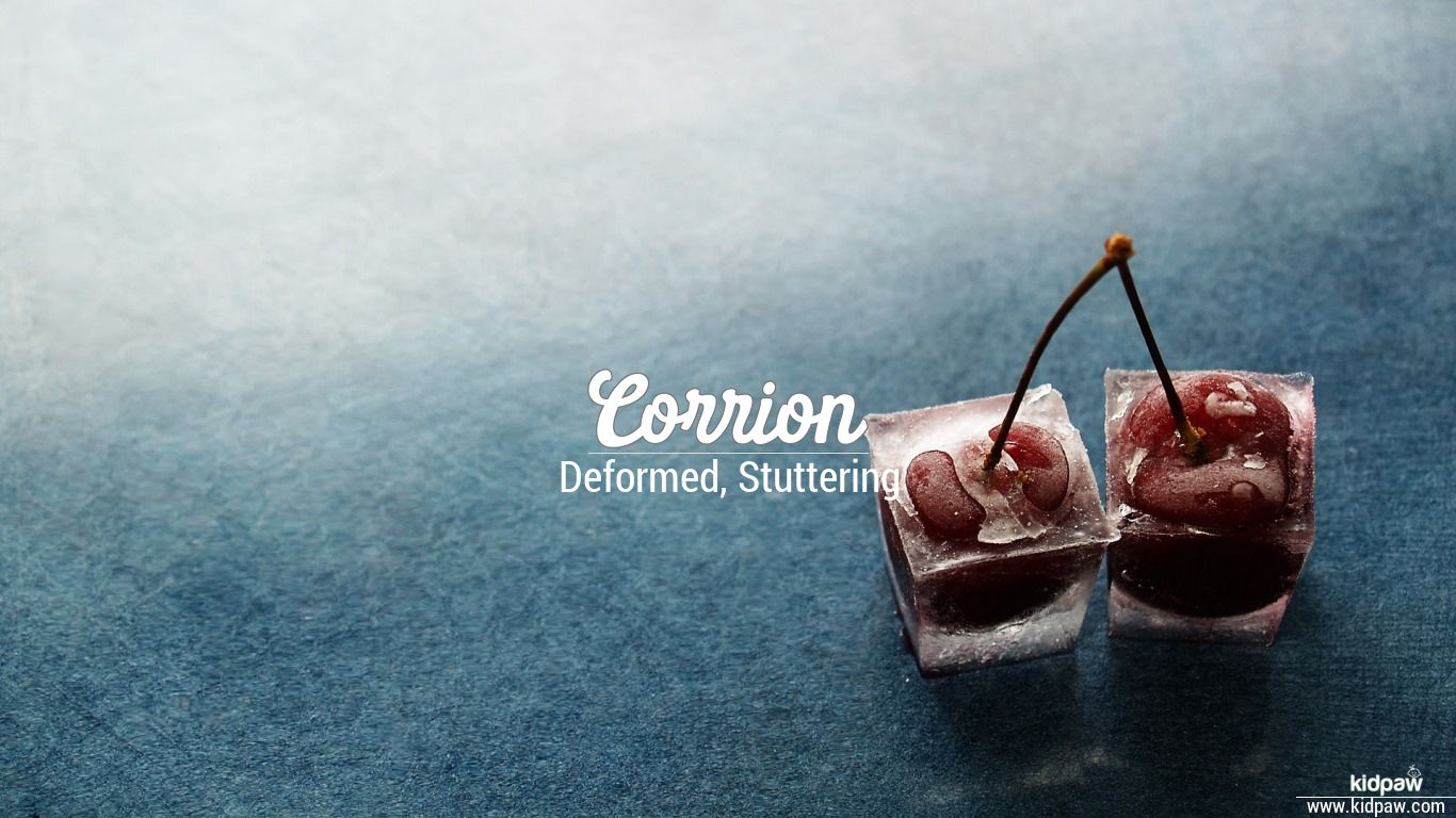 Corrion beautiful wallper