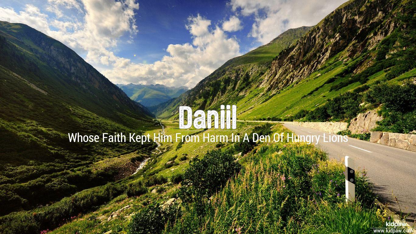 Daniil beautiful wallper