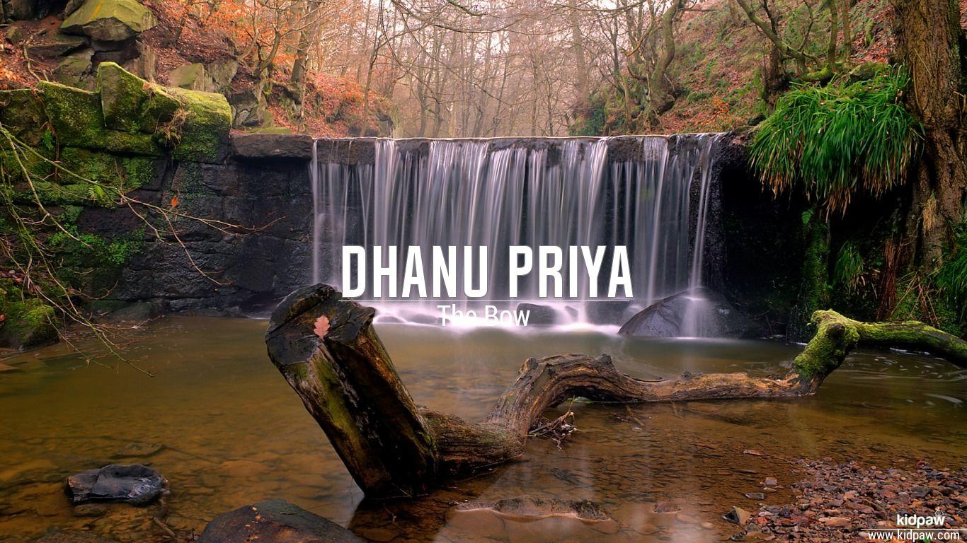 Dhanu Priya beautiful wallper