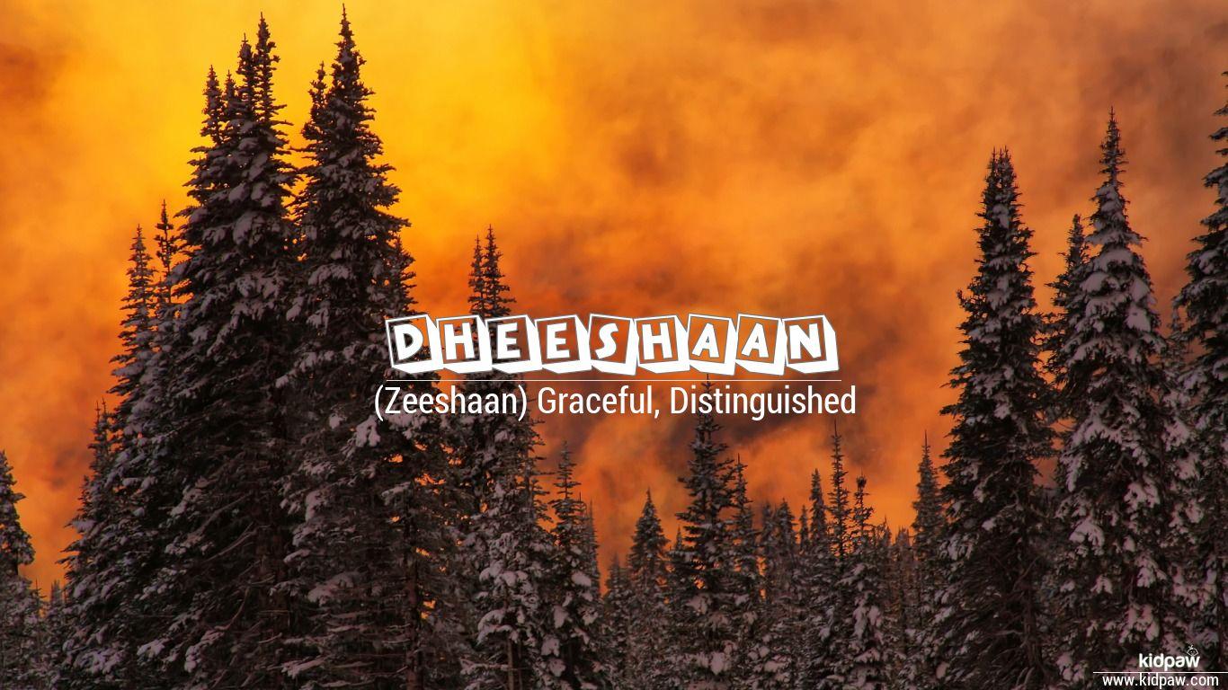 Dheeshaan beautiful wallper