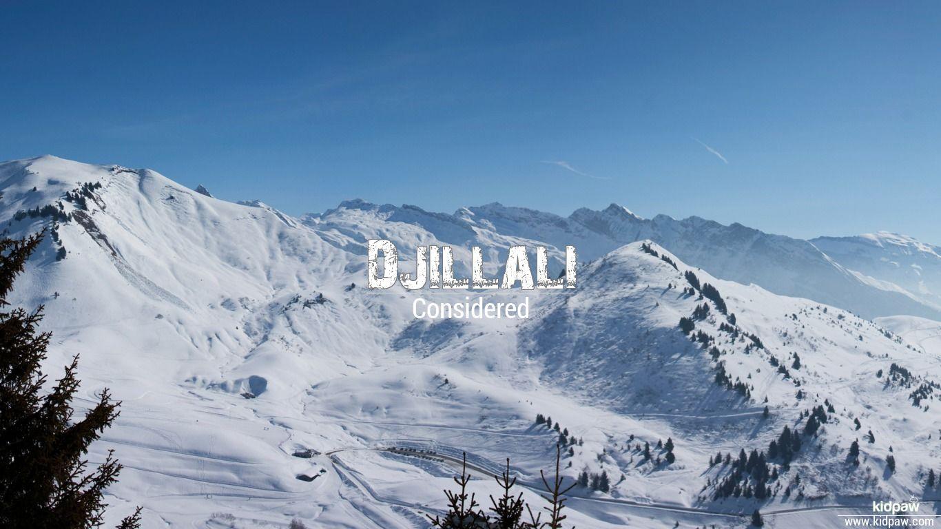 Djillali beautiful wallper